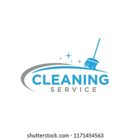 cleaning service logo icon vector template