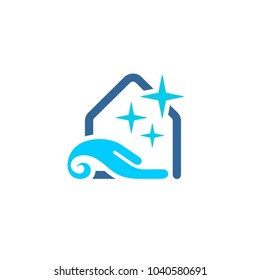Cleaning service logo idea