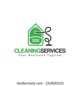 Cleaning Services Company Logo template