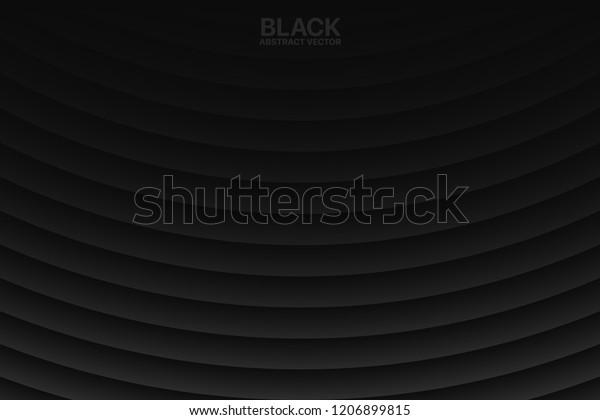 Clear Blank Black Subtle Geometrical Vector Stock Vector Royalty