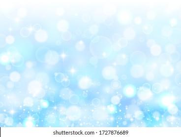 Clear blue beautiful glitter background