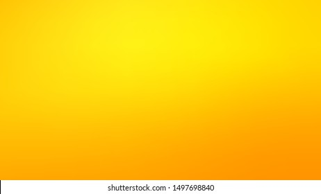 Clear Blurred Background in Yellow Colors. Clean Defocused Backdrop