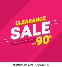 Clearance Sale Up To 90%