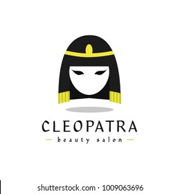 Cleopatra Logo Beauty Salon