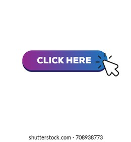 Click here sign with arrow pointer.