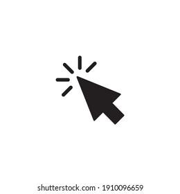 click icon symbol sign vector