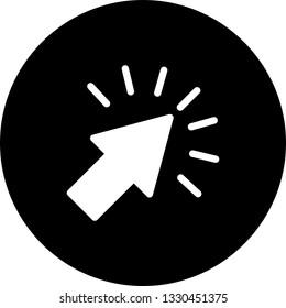 Click Vector Icon
