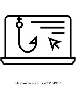 Clickbait Ads Vector Icon