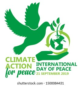 Climate action for peace theme international day of peace in 2019
