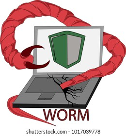Image result for worm virus