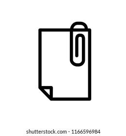 clip icon vector template