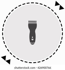 Clipper icon Flat Design. Isolated Illustration.