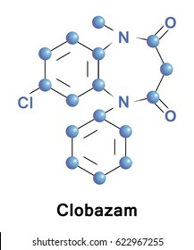 Clobazam is a benzodiazepine is an anxiolytic and an anticonvulsant