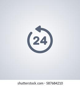 Clock 24 icon