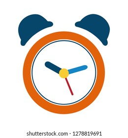 clock Alarm icon-alarm isolated-alert symbol-time illustration-ring Sign-deadline symbol-wake Vector
