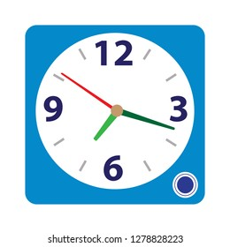 clock Alarm icon-alarm sign-alert symbol-time illustration-wake Vector