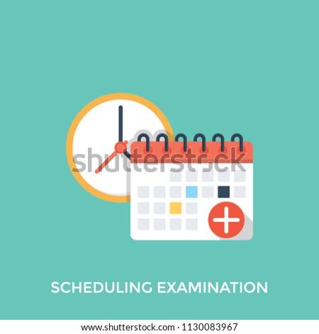 clock calendar medical plus sign shows stock vector royalty free