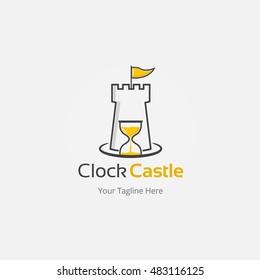 Clock Castle Logo Template