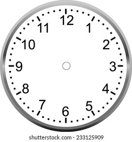 Clock Face Images Stock Photos Amp Vectors Shutterstock