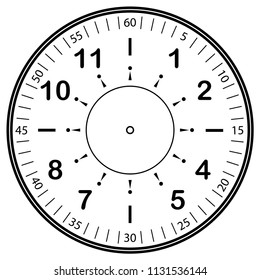 Vector Art - Clock, wall clock, clock face icon. EPS clipart gg74651570 -  GoGraph