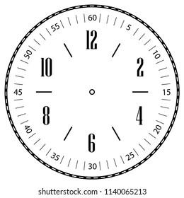 Clock Face Clip Art at Clker.com - vector clip art online, royalty free &  public domain