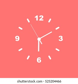 Clock face on  
