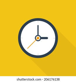 Analog Clock Stock Illustrations, Images & Vectors