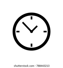 clock icon illustration isolated vector sign symbol