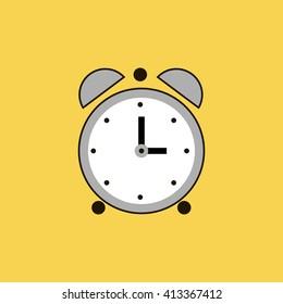clock icon. clock sign