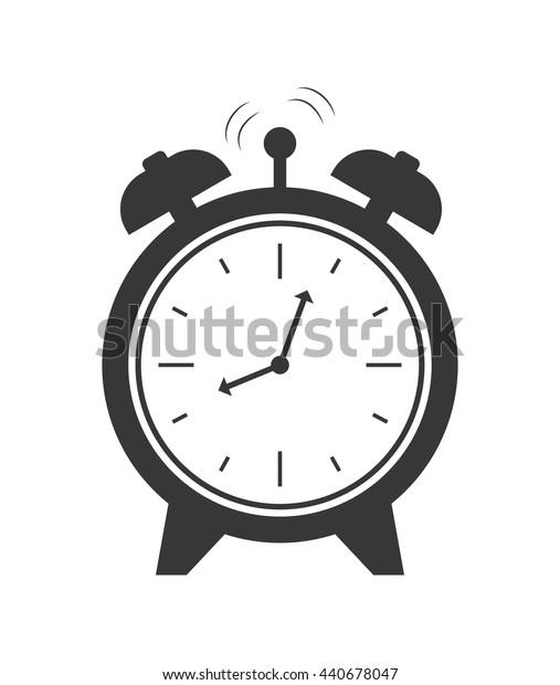 Clock  icon. Time design. vector graphic