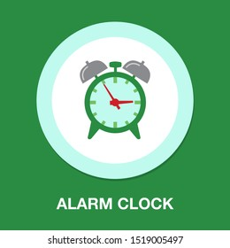 clock icon, vector alarm icon, timer symbol