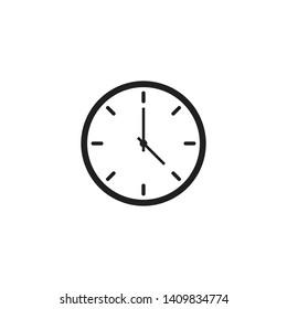 Clock Icon Vector Illustration - Vector