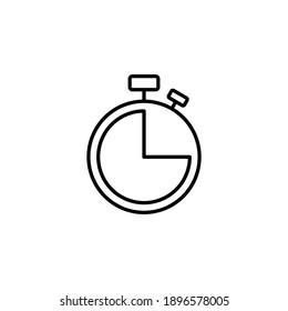 Clock icon vector. Time icon vector. watch icon symbol