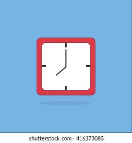 clock icon,clock square