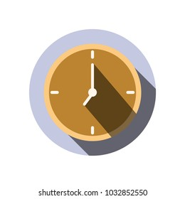 clock icon,Morning is working time