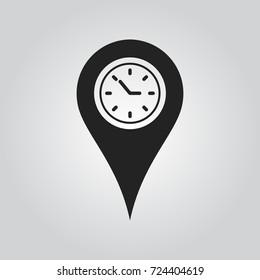 clock location icon