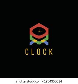 Clock Logo Design - Clock Logo Template.