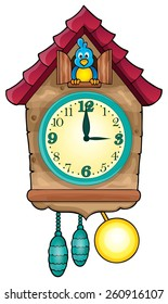 Clock theme image 1 - eps10 vector illustration.
