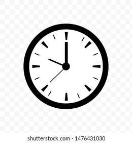 Clock Time Icon Vector Illustration - Vector
