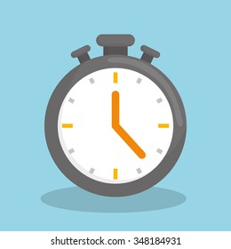 Clock Timer graphic design, vector illustration eps10