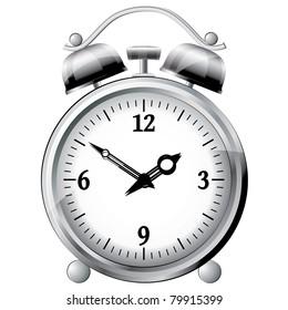 Clock. Vector illustration.