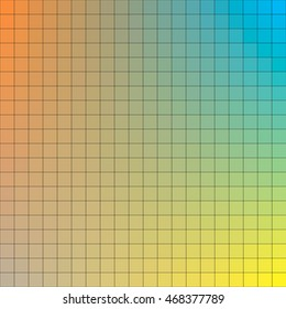 Clored square Vector background