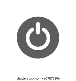 Close bottom icon in trendy flat style isolated on white background. Symbol for your web site design, logo, app, UI. Vector illustration, EPS