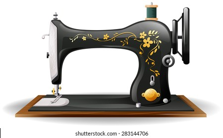 Royalty-Free Sewing Machine Clipart Stock Images, Photos & Vectors ...
