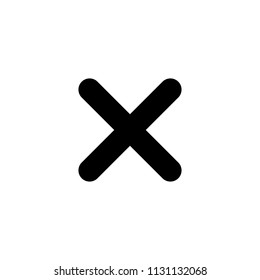 Close icon. Delete icon. Delete symbol. Wrong mark icon vector. Close sign symbol. Exit sign