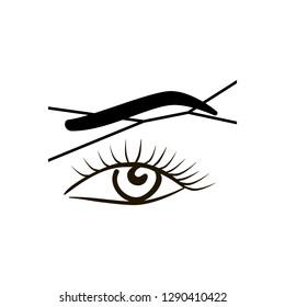 Eyebrow Threading Images, Stock Photos & Vectors   Shutterstock