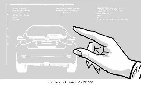 Car Schematic Images, Stock Photos & Vectors | Shutterstock