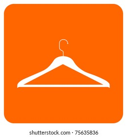 CLOTHES HANGER ICON. Vector available