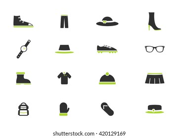 Clothes simply icons for web and user interface