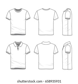 Polo Shirt Template Images Stock Photos Vectors